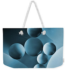 Weekender Tote Bag featuring the photograph Spheres by Elena Nosyreva
