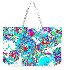 Spheres Series 1511.021413invfddfs-sc-2 Weekender Tote Bag by Kris Haas