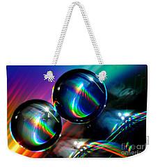 Spheres Weekender Tote Bag by Sylvie Leandre