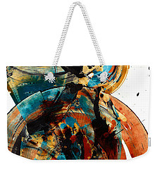Spherical Joy Series 208.012011 Weekender Tote Bag by Kris Haas