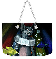Sphynx Clown Weekender Tote Bag