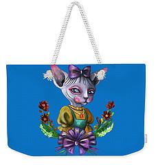 Sphynx Girl Weekender Tote Bag