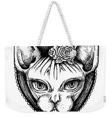 Sphynx Lady Weekender Tote Bag