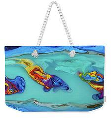 Sphyrna Media Weekender Tote Bag by Angel Ortiz