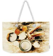 Spice Brown  Weekender Tote Bag