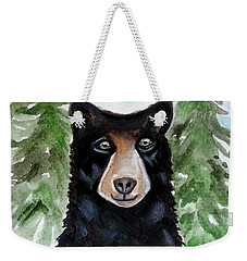 Spicer The Black Bear Weekender Tote Bag