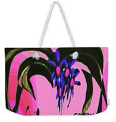 Spider Flower Weekender Tote Bag