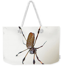 Spider In The Woods Weekender Tote Bag