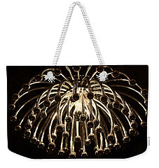 Weekender Tote Bag featuring the photograph Spider Light by Kristin Elmquist