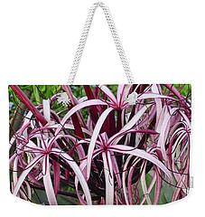 Spider Lily Weekender Tote Bag by Athala Carole Bruckner