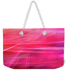 Spider Lily Bottom Weekender Tote Bag by Cheryl McClure
