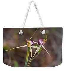 Spider Orchid Australia Weekender Tote Bag