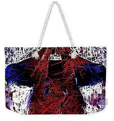 Spiderman Hanging Around Weekender Tote Bag