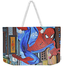 Spiderman Swings Weekender Tote Bag
