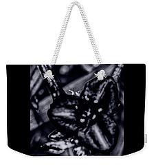 Spiderwort Shining Weekender Tote Bag by Gina O'Brien