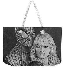 Spidey And Gwen Weekender Tote Bag