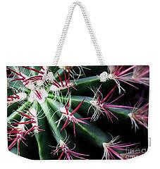 Spikes Weekender Tote Bag by Ana Mireles