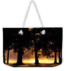 Weekender Tote Bag featuring the photograph Spilled Suinshine by Tikvah's Hope