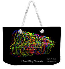 Spin Weekender Tote Bag by Diane E Berry