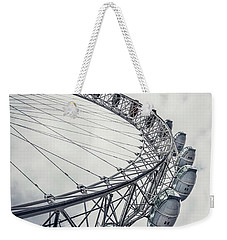 Spin Me Around Weekender Tote Bag by Evelina Kremsdorf