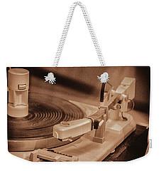 Spin Weekender Tote Bag by Pamela Williams