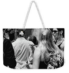 Spines And Ribs Weekender Tote Bag by Dennis Baswell