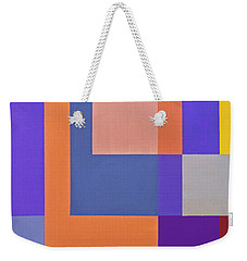 Spring 3 Abstract Composition Weekender Tote Bag