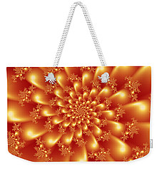 Spinning Gold Weekender Tote Bag