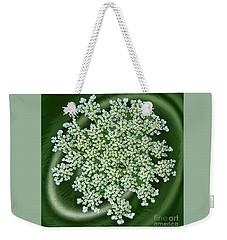 Spinning Lace Weekender Tote Bag