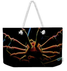 Spinning Wheel In Neon Weekender Tote Bag