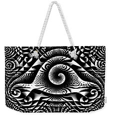 Spiral Abstract 1 Weekender Tote Bag