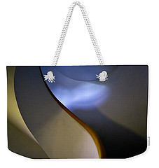 Spiral Concrete Modern Staircase Weekender Tote Bag