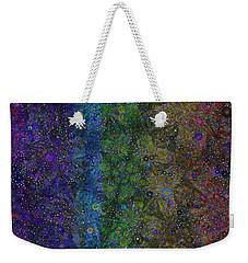 Spiral Spectrum Weekender Tote Bag