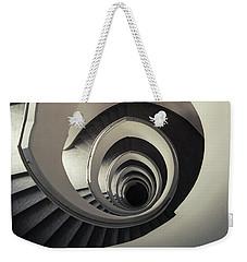 Spiral Staircase In Beige Tones Weekender Tote Bag by Jaroslaw Blaminsky
