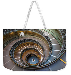 Spiral Staircase In St. Peter's Basilica Weekender Tote Bag