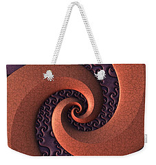 Spiralicious Weekender Tote Bag by Lyle Hatch