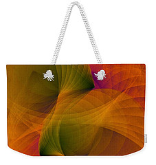 Spiraling Insight With Complicated Continuation Weekender Tote Bag by Susan Maxwell Schmidt