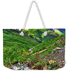 Spires And Stream Weekender Tote Bag by Scott Mahon