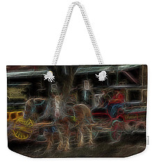 Spirit Carriage 3 Weekender Tote Bag