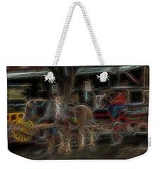 Spirit Carriage 3 Weekender Tote Bag by William Horden