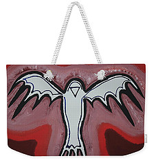 Spirit Crow Original Painting Weekender Tote Bag