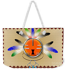 Spirit Face Weekender Tote Bag
