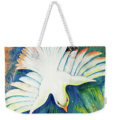 Spirit Fire Weekender Tote Bag by Nancy Cupp