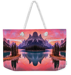 Spirit Island Reflections Weekender Tote Bag