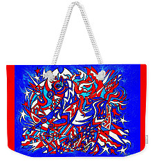 Spirit Of Freedom Weekender Tote Bag