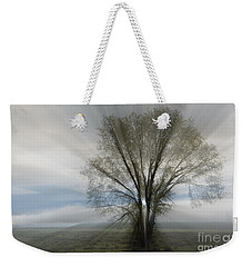 Weekender Tote Bag featuring the photograph Spirit Of Nature by Sandra Bronstein