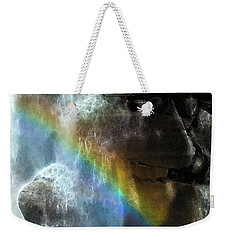 Weekender Tote Bag featuring the photograph Spirit Of Nooksack Falls by Yulia Kazansky
