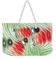 Weekender Tote Bag featuring the digital art Spirit Of Spring by Anastasiya Malakhova