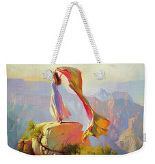 Spirit Of The Canyon Weekender Tote Bag