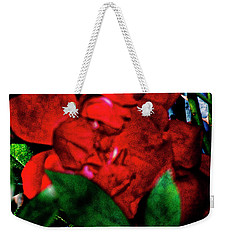 Spirit Of The Rose Weekender Tote Bag by Gina O'Brien